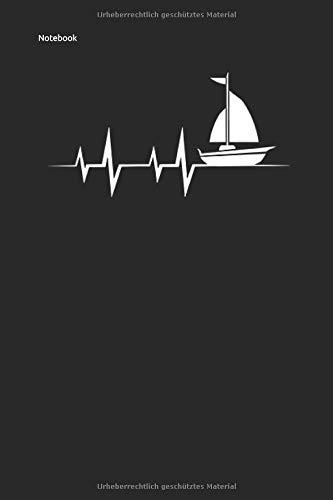 Notebook: Segeln Sailing Notizbuch Planer 6x9 lined