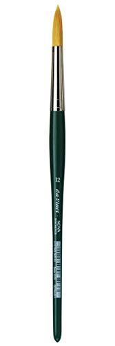 Da Vinci NOVA - Serie 1570 - Cepillo de fibra sintética, líneas de escuela y hobby - Tamaño 12