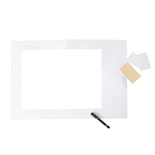 Amosfun Photo Booth blanco Selfie Marco imagen Accesorios