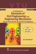 A Textbook On Elements Of Civil Engineering And Engineering Mechanics (As Per...