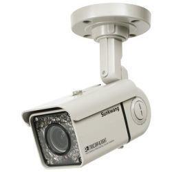 'sk p5003,8–9,5mm dekom, 1/3giorno/notte fotocamera im mosferici incorporato con 3achsialem a parete/soffitto titolare e mechanischem colore filtro. tensione radiocomandata obiettivo varifocale da 3,8a 9,5mm per l' uso in ambienti interni ed esterni, regolabile tramite esterno ring, ad alta risoluzione, sony exview chip ccd, 550tvl in colore e 580tvl in s/w, sensibilità alla luce 0lux (led) 30led a infrarossi integrati con un raggio d' azione fino a 40m, compensazione luce, agc turbo, linelock synchr onisatio