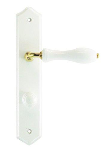 DT 2000 740340 - Tirador para puerta sobre placa de madera lacada (con