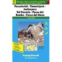 Freytag Berndt Wanderkarten, WKS 8, Passeiertal - Timmelsjoch - Jaufenpaß 1:50.000 (Hiking Maps of the South Tyrol)