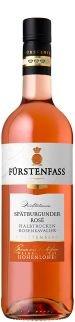 2015 Weinkellerei Hohenlohe Fürstenfass Spätburgunder Rosé halbtrocken (1x0,75l)