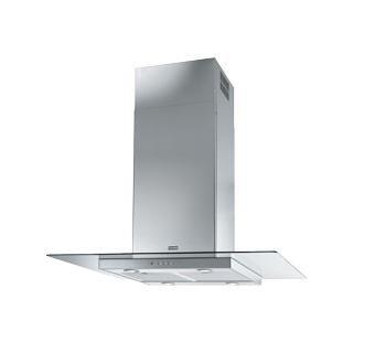 Franke Glass Linear Basic FGL 915 I XS Insel Dunstabzugshaube Edelstahl