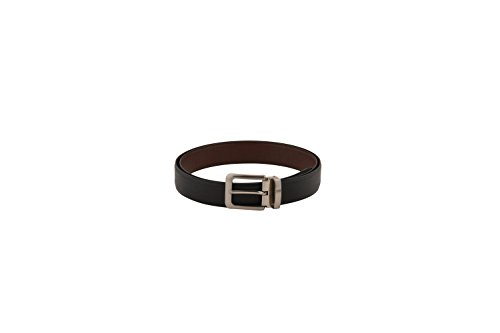 Pacific Gold Belts for men and boys with Original Branded new style buckle Non Leather Reversible Stylish Combo Of Black And Brown Double Side Formal Dress Belt Can be used with Casual Jeans  available at amazon for Rs.395