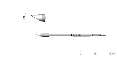 Jbc C245260 – Punta de soldar para T245
