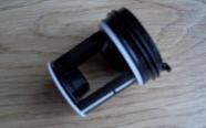 Indesit Waschmaschinen-Flusensieb für Ariston/Hotpoint/Indesit, schwarz