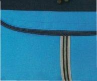 SPEAR® SIMPLISTIC 1682 Sporttasche 42cm Freizeittasche in 4 Farben schwarz/orange