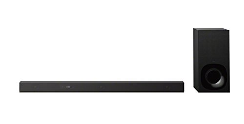 Sony HT-ZF9 3.1ch Dolby Atmos/DTS X Soundbar with High-Resolution Audio, Wi-fi and Subwoofer, Works with Amazon Alexa - Black