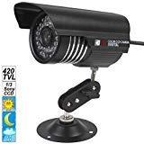 SecurityIng Sony CCD 420 TVL Caméra de vidéosurveillance...