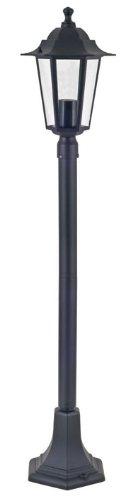 Aluminium-Stehleuchte Kingston schwarz für den Außenbereich Wegeleuchte Gartenbeleuchtung