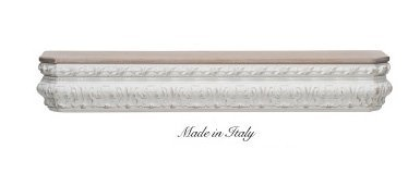 Mensola stile barocco in legno con fregio disponibile in diverse rifiniture L'ARTE DI NACCHI 4947/SCN