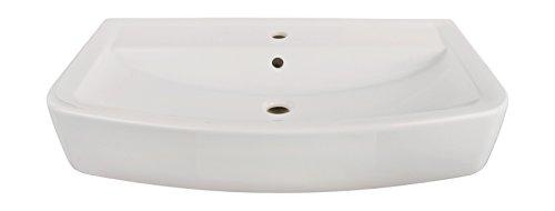 Waschtisch basinO   80 cm   Weiß   Waschbecken   Waschplatz   Bad   Badezimmer   Keramik   Design