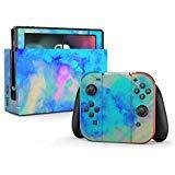 Electrify Aufkleber für Nintendo Switch, Eisblau