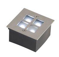 Plinth Light [ Robus Grid Square Step Light 240V -