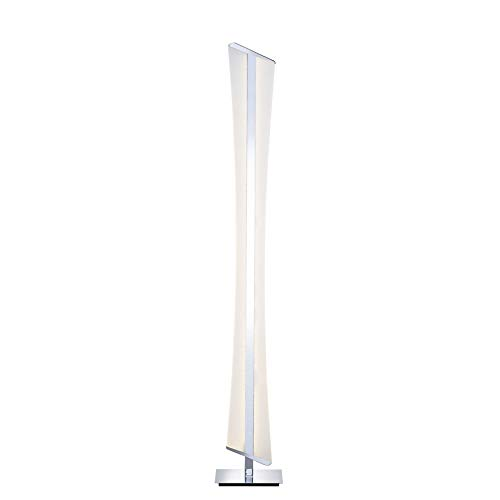 Paul Neuhaus 843-17 Q-RILLER LED-Stehlampe Smart-Home für Alexa, inkl. Fernbedienung, warmweiß oder RGBW Farbwechsel, dimmbar