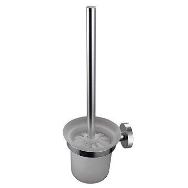 Miaoge® Espace Aluminium brossé WC