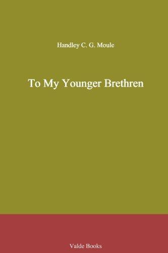 To My Younger Brethren
