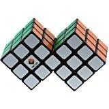 Zantec Zauberwürfel Double 3x3 Würfel Schwarz (Schwierigkeitsgrad 9 von 10)