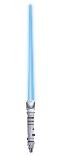 Rubies 8297 - Star Wars - Plo Koon Elektronisches Lichtschwert, 90 (Koon Kinder Plo Kostüme)