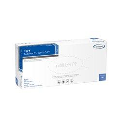 MaiMed Untersuchungshandschuh nitril LG puderfrei blau 300 mm - L