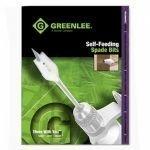 Greenlee 34AR-6 Self-Feeding Spade Bit Kit, 6-Piece by Greenlee -