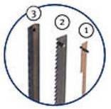 Drechselbank–Messer-Holz 6,0x 0,40mm/6ZZ