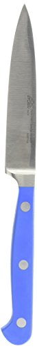 Stubai 76190203 Couteau à Larder, Acier Inoxydable, Argent/Bleu, 28 x 13 x 13 cm