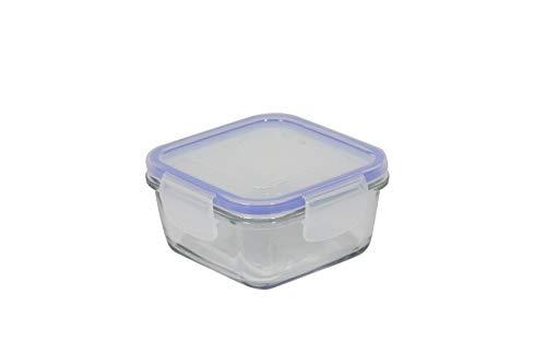 /Tarro con Tapa Cristal Naranja 11,5/x 11,5/x 15,5/cm Luminarc 8010776/Storing Box/