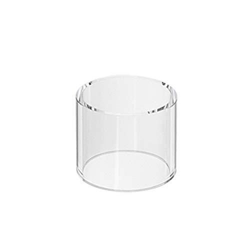 Denghui-ec, 2 stücke ersatz Pyrex glasrohr für wismec reux Mini 2 ml Tank zerstäuber fit reuleaux rxmini 80 watt tc kit/rx Mini, Frei von Tabak und Nikotin (Color : Clear)