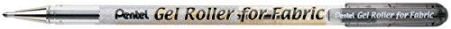 Black Gel Roller Fabric Pens 1.0mm BN15-BPA