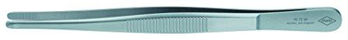 72 Pinzette (KNIPEX 92 72 45 Präzisions-Pinzette stumpfe Form 145 mm)
