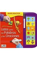 ¡Vamos a aprender! Listos para las palabras y oraciones/ Ready for words and sentences por Sharon Streger