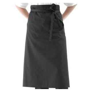 Whites Chefs Apparel A968 Regular Waist Aprons, Teflon coated, Poly-cotton, 30