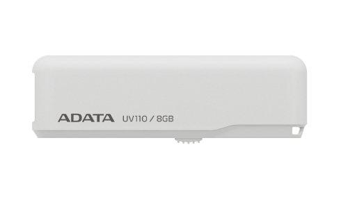 Adata UV110 USB 2.0 8GB Pen Drive (White)
