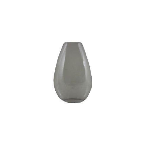Essentials Décor Fußballhose Entrada Kollektion rund Glas Vase, 15.75-inch, transparent (Akzente Traditionelle)