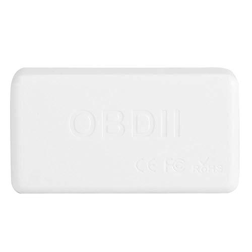 Gorgeri ABS Codeleser, OBD2 OBDII Auto Diagnosewerkzeug weißer Selbstscanner Codeleser V01B2-1