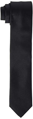 HUGO Herren Tie cm 6 Krawatte, Schwarz (Black 001), One Size (Herstellergröße:ONESI)