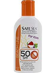 Safe Sea Lotion - SPF 50+ Sunscreen for kids