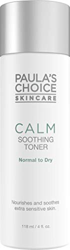 Paula\'s Choice Calm Soothing Gel Gesichtswasser - Reduziert Rötungen - Hautpflege für Rosacea Empfindliche Haut - Toner mit Glycerin - Normale bis Trockene Haut - 118 ml