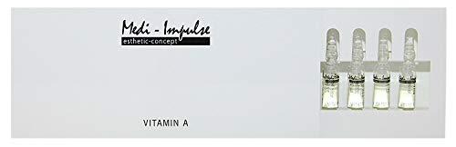 Medi-Impulse® THL13 Vitamin A Ampullen 10 x 2 ml mit Hyaluron | Falten minimieren | Faltencreme | Faltenreduktion