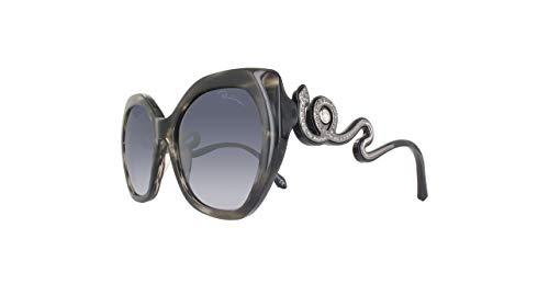 Roberto Cavalli Chianciano RC1047 C57 05C (black/other / smoke mirror) Sonnenbrillen