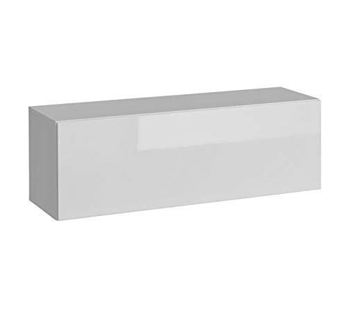 Muebles bonitos mobile pensile modello martina p h105x35 (105x35cm) bianco