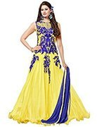 Dipak Fashion New Fancy Traditional Women Semi-stiched Lehenga Choli  available at amazon for Rs.199