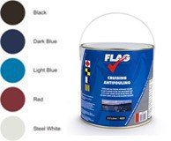 FLAG Cruising Antifouling Paint Light Blue 2.5 Ltr