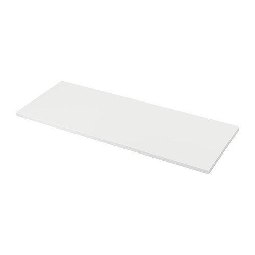 IKEA SÄLJAN Arbeitsplatte in weiß; (186x3,8cm)