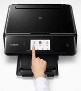 Canon Pixma TS8070 All-In-One Color InkJet Printer (Black)