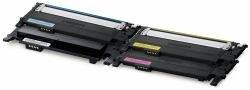 Samsung CLP-360nd Jeu de toners originaux–p406C/ELS (CMYK) 1x noir/cyan/jaune/magenta + 500feuilles de papier laser DIN A480g/m²