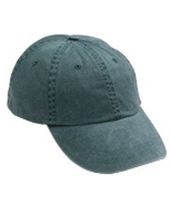 Anvil - 6-Panel Pigment-Dyed Twill Cap >> One size,PINE Panel Twill Cap